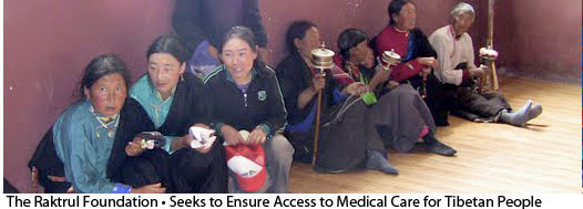 medical missions to Tibet by The Raktrul Foundation