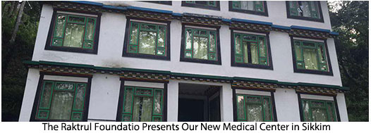 Our new medical center in Sikkim.
